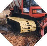 Pistenraupen - Felasto PUR Hersteller von Ersatzteilen aus Felastec, für Pistenraupen u. Pistenfahrzeuge wie z.B. Pistenbully von Kässbohrer und Maschinen anderer Hersteller